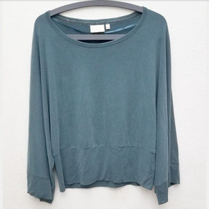 🧚Anthro | Deletta Seafoam Green Long Sleeve Top🧚